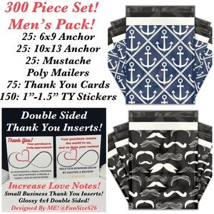 Mustache SOLD OUT!Please see other shipping kits!